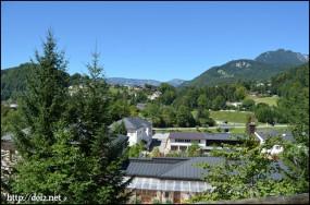ベルヒテスガーデン岩塩坑からの景色