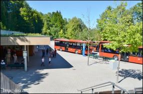 Kehlstein Busabfahrt(ケールシュタイン行きバス乗り場)