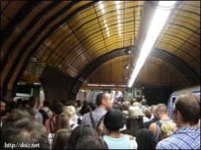 地下鉄 Theresienwiese駅