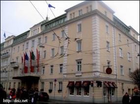 Hotel Sacher(ザルツブルクのホテルザッハー)