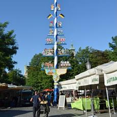 【ミュンヘン観光】Viktualienmarkt(ヴィクトゥアーリエンマルクト)周辺の見どころ