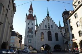Altes Rathaus(旧市庁舎)Tal側