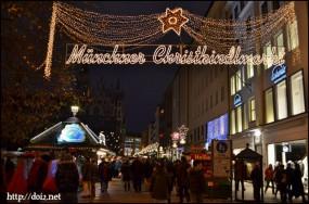 Münchner christkindlmarkt(クリスマスマーケット)