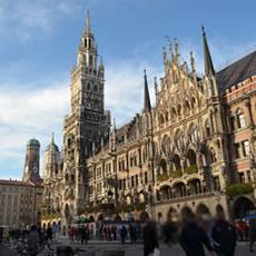 【ミュンヘン観光】Marienplatz(マリエン広場)周辺の見所
