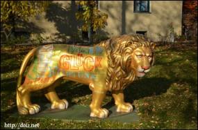 Karolinenplatz(カロリーネンプラッツ)ライオン