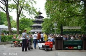 Chinesischer Turm(中国塔)のビアガーデン