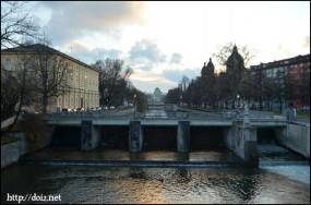 Maximiliansbrücke(マクシミリアン橋)からの景色