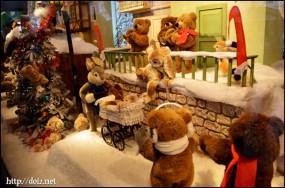 Kaufhofのクリスマスディスプレイ