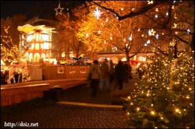 Rindermarktのクリスマスマーケット