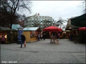 ハイドハウゼンのクリスマスマーケット