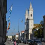 【ミュンヘン観光】Leopoldstr.~Münchner Freiheit周辺の見所
