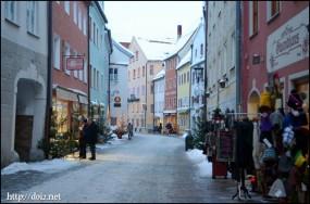 Füssen(フュッセン)の街並み