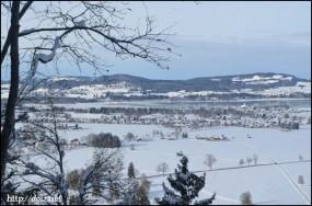 ノイシュバンシュタイン城の丘からの景色
