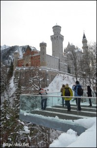ノイシュバンシュタイン城の展望台
