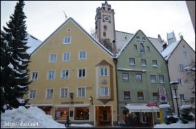 フュッセンの街並み