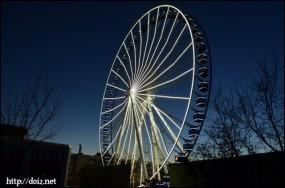 Riesenrad(Frankfurter Ring沿いの観覧車)