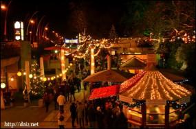 11月末、ミュンヒナーフライハイトのクリスマスマーケット