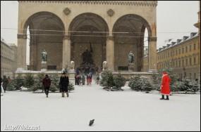 12月中旬、オデオンス広場