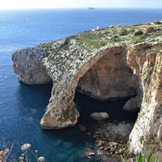 【マルタ】Blue Grotto(青の洞門)