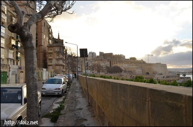 Valletta(ヴァレッタ)城壁沿い