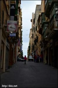 Valletta(ヴァレッタ)の街並み