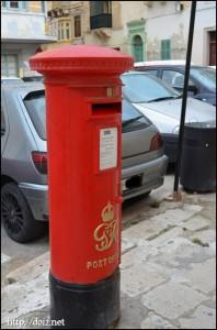 マルタの郵便ポスト