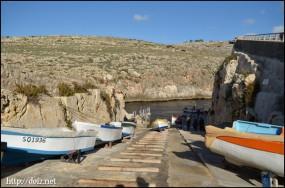 Blue Grotto(青の洞門)ボート乗り場