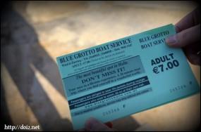 Blue Grotto(青の洞門)チケット