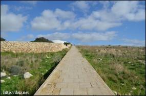 ハジャール・イム~ムナイドラ神殿の道