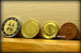 マルタのユーロコイン