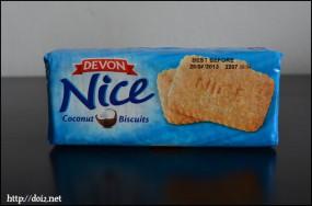 Niceココナッツクッキー