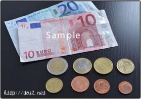 ユーロ紙幣&コイン
