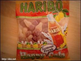Haribo Happy Cola Lemon Fresh(ハリボー・ハッピーコーラ・レモンフレッシュ)