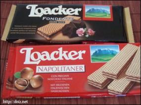 Loacker(ローカーのウエハース)