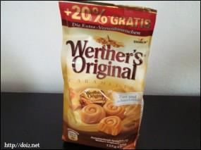 Werther's Original(ヴェルタースオリジナル) のチョコレート