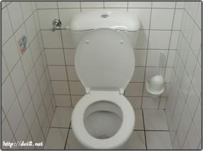 ドイツのトイレ