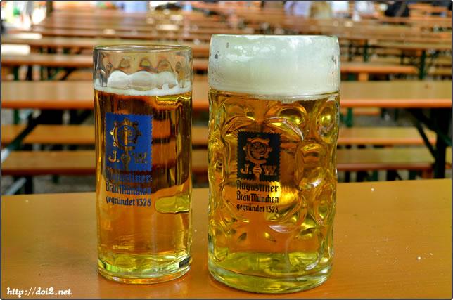 Augustiner-Kellerのビール