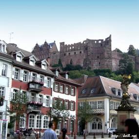 Schloss Heidelberg ハイデルベルク城
