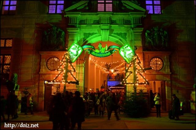 Residenzのクリスマスマーケット