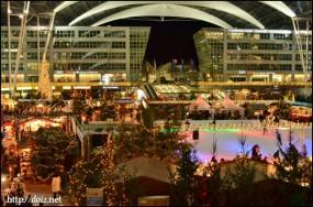 Wintermarkt am Flughafen