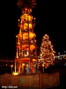 Dresdenのクリスマスマーケット
