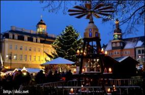 Eisenachのクリスマスマーケット