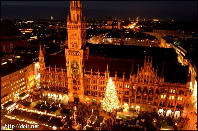 ミュンヘンのクリスマスマーケット